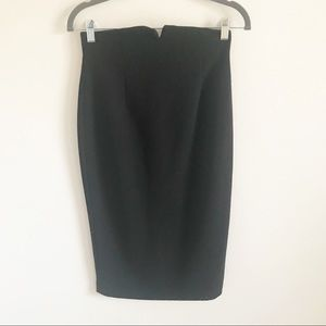 Zara high raise pencil skirt. New without tag.